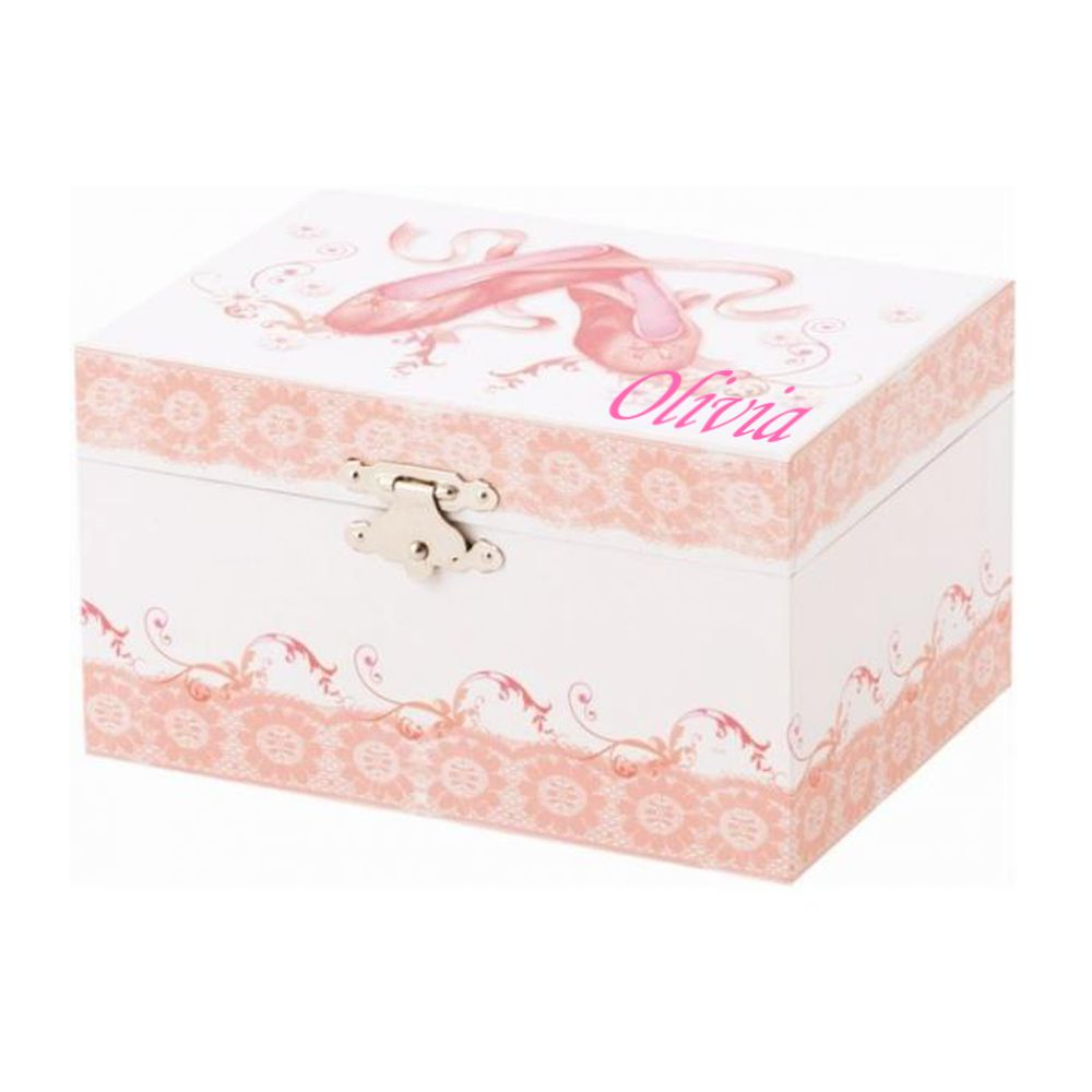 Personalised Dulcie Ballet Shoes Musical Jewel Case