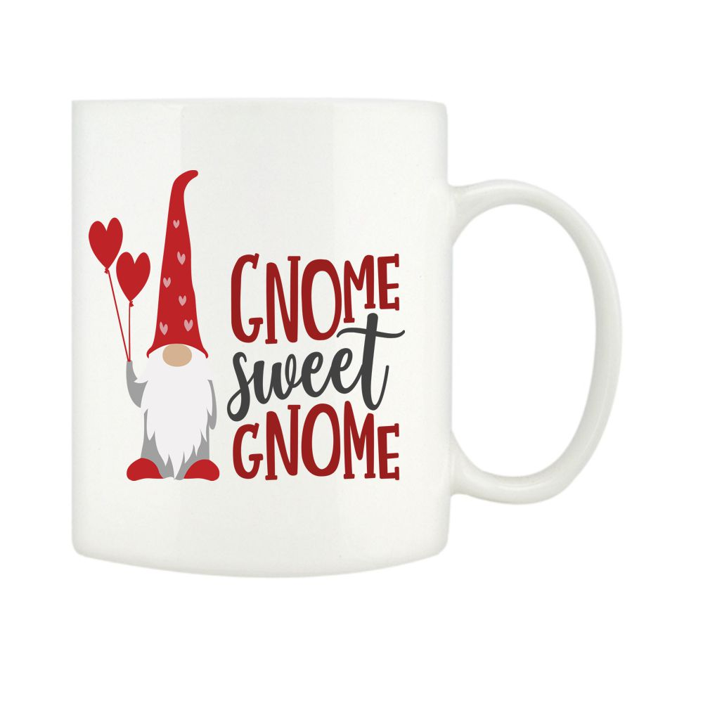 Personalised Gnome Sweet Gnome Mugs