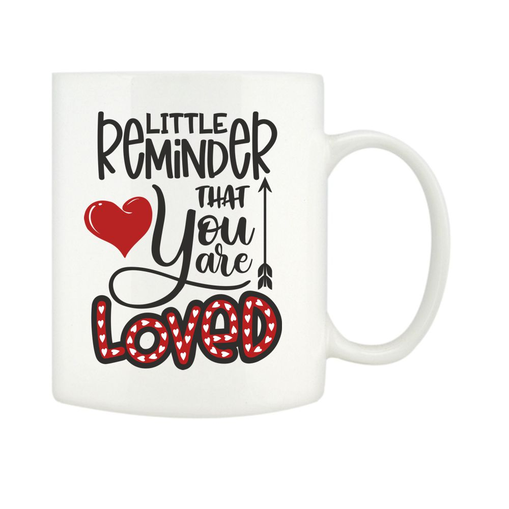 Personalised You Are Loved Mugs