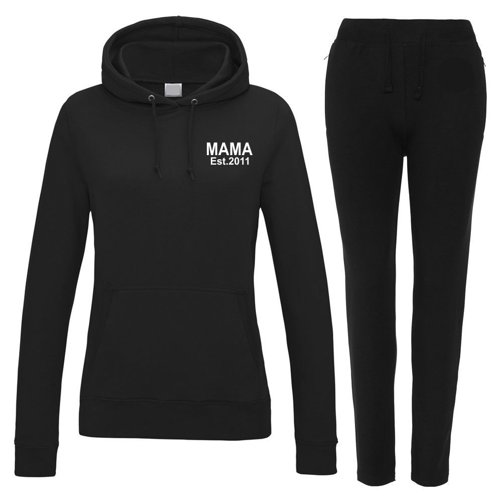 Personalised Ladies MAMA Est. Lounge Wear