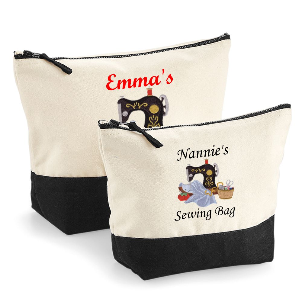 Personalised Embroidered Sewing Craft Bag