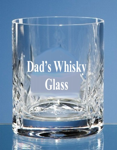 Engraved Flamenco Whisky Glass/Tumbler