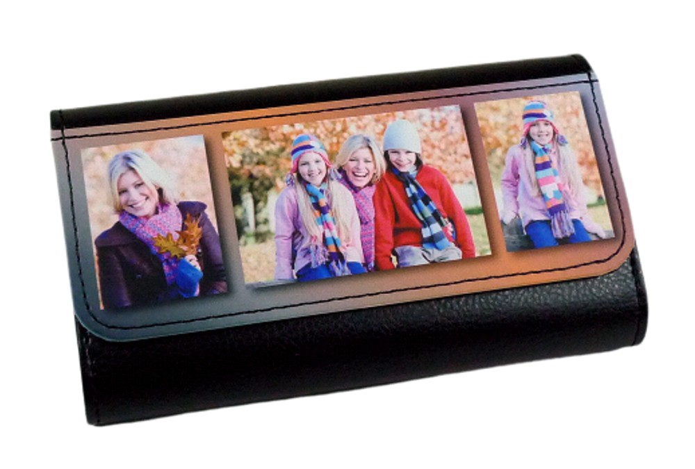 Personalised Printed Leather Glasses Case
