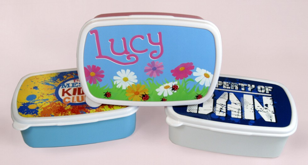 Personalised Sandwich/Lunch Boxes