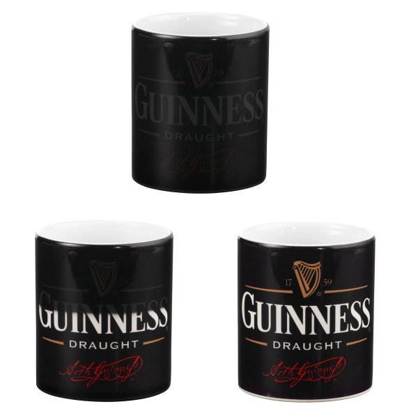 Personalised Black Photo Colour Change Mugs