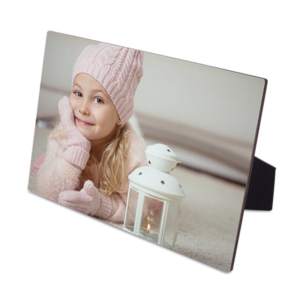 Personalised Flat Top Photo Board with Stand