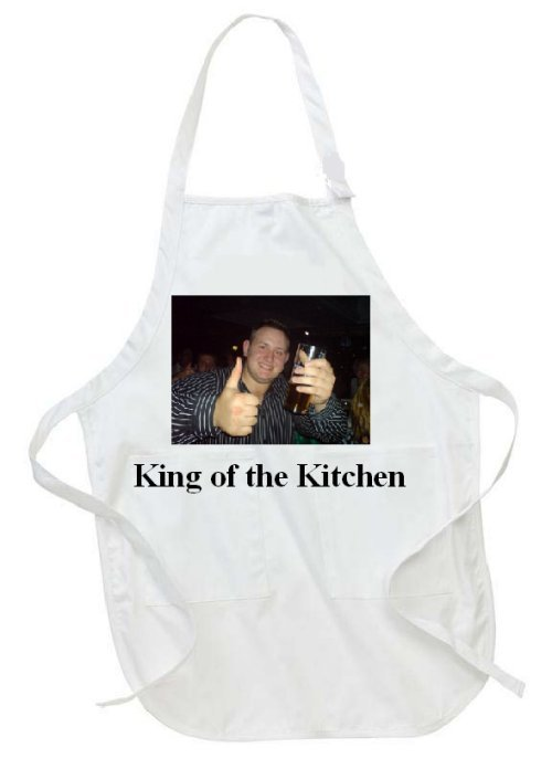 Personalised Adults Photo Apron