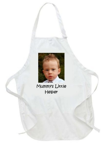 Personalised Children's Kids Photo Apron